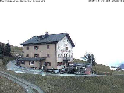 Tschappina › Norden: Berggasthaus Beverin - Glas Pass