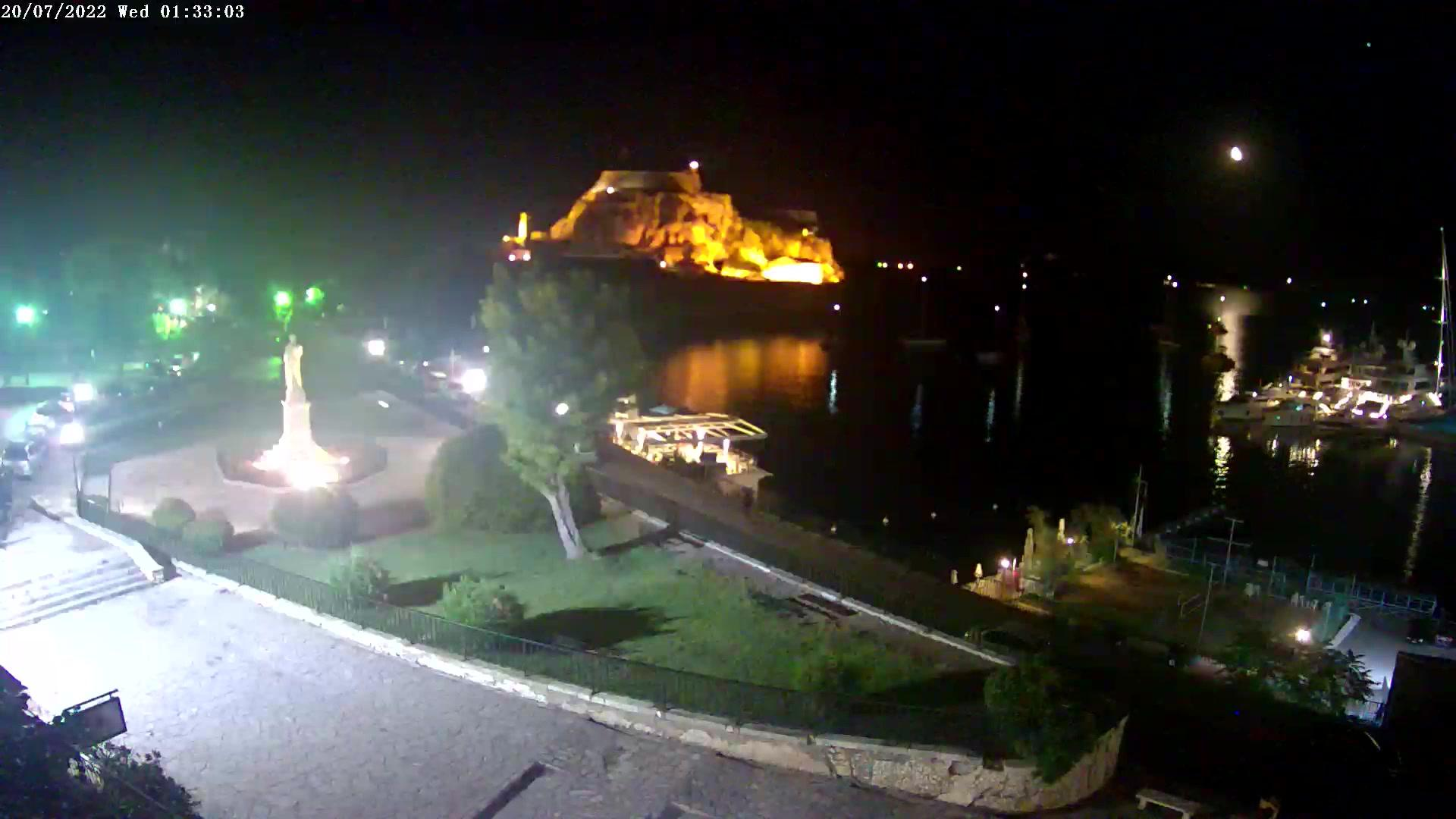 webcam Corfou