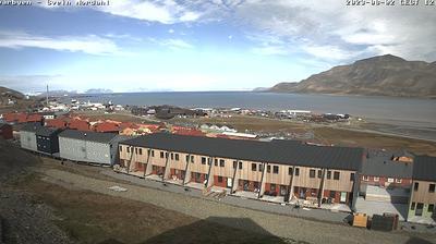 Tageslicht webcam ansicht von Longyearbyen › North: Panorama