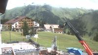 Lech: Hotel Petersboden, Terrasse, Oberlech am Arlberg - Overdag