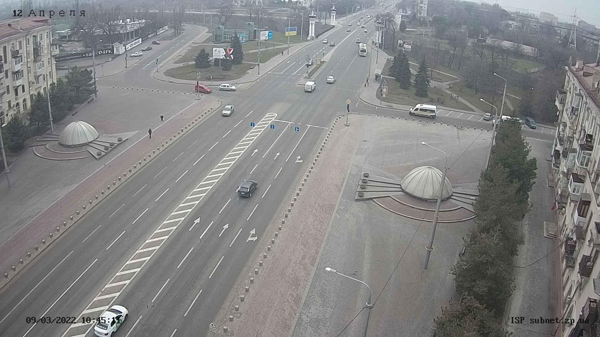 Webcam Voznesenka: Площадь Поляка, проспект Ленина