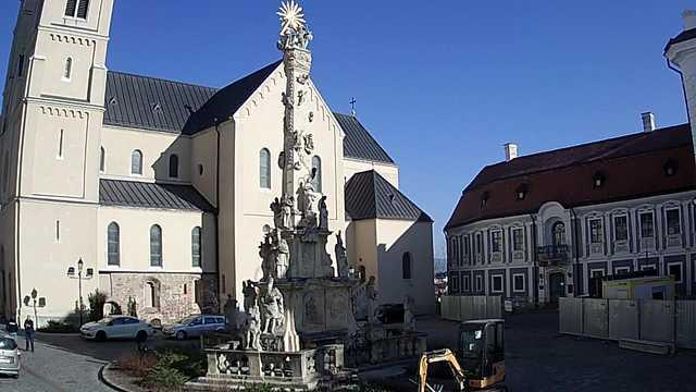 Webcam Veszprém: Veszprémi vár (Castle of Veszprem)