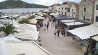 Last daylight view from Primošten › North East: Šibensko Kniniska − Primosten riva
