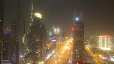 Current or last view from Dubai International Financial Centre: Four Points by Sheraton Sheikh Zayed Road, Dubai
