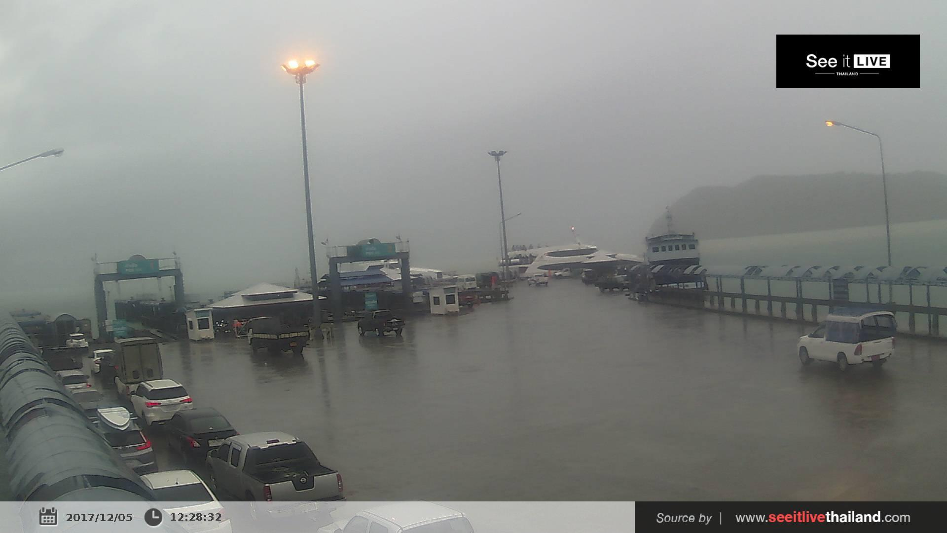Веб-камера บ้านในวก: Phangan Pier