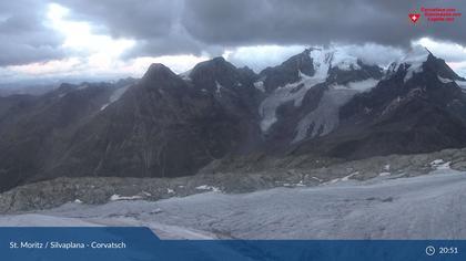 Silvaplana: Corvatsch - Corvatsch, Corvatsch - Blick Bernina