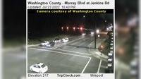 Durham: Washington County - Murray Blvd at Jenkins Rd - Actuales
