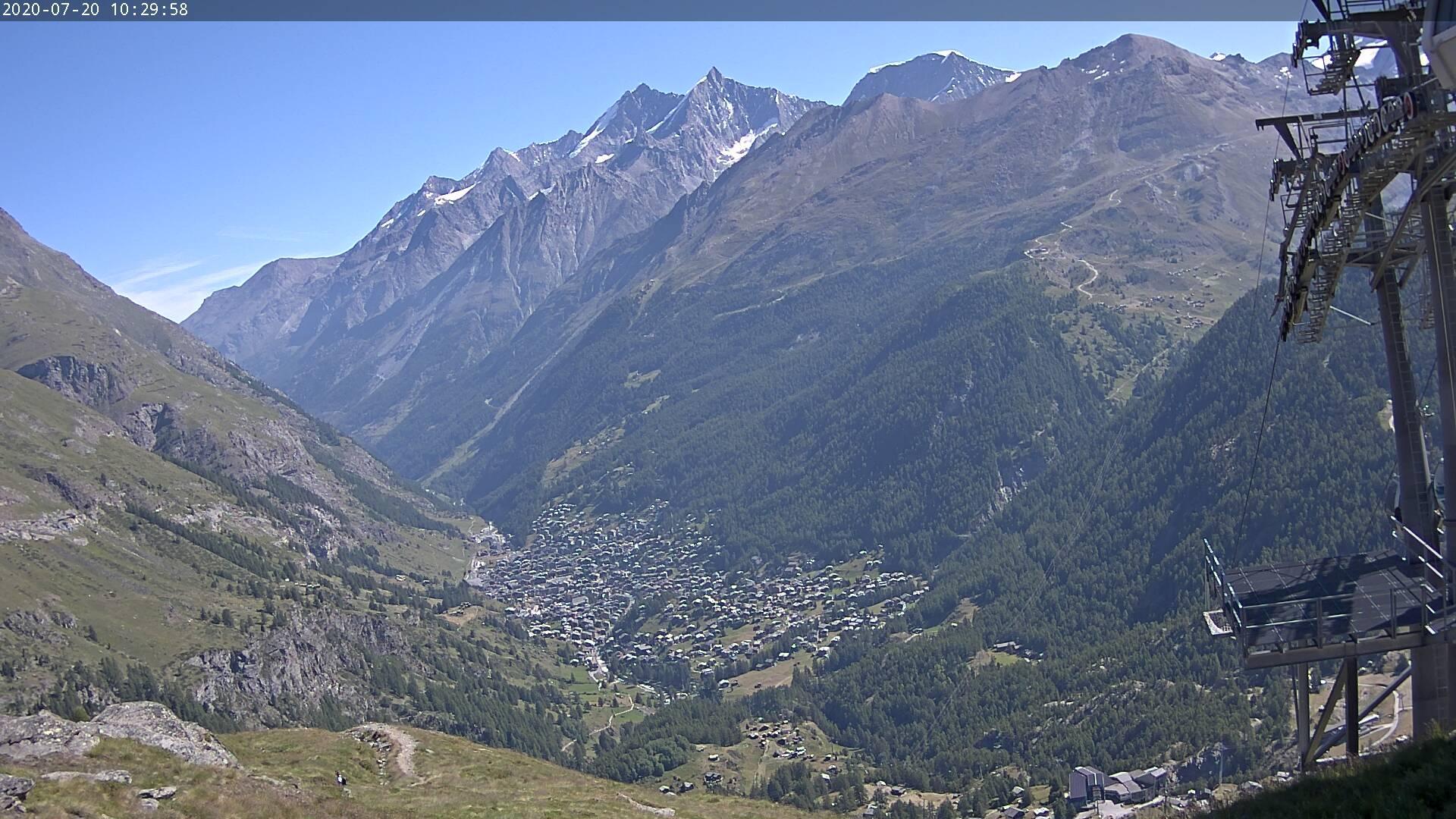 Webcam Fiery: Aroleid − Matterhorn Zermatt