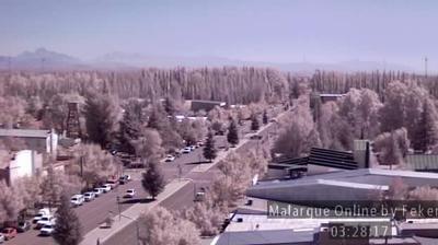 Daylight webcam view from Malargüe › North: Province