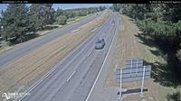 Last daylight view from Kaiapoi › South: SH1 − South