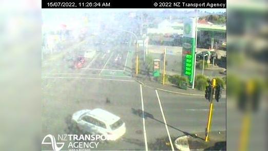 Webkamera Claudelands › West: SH1/SH23 Massey St Intersectio