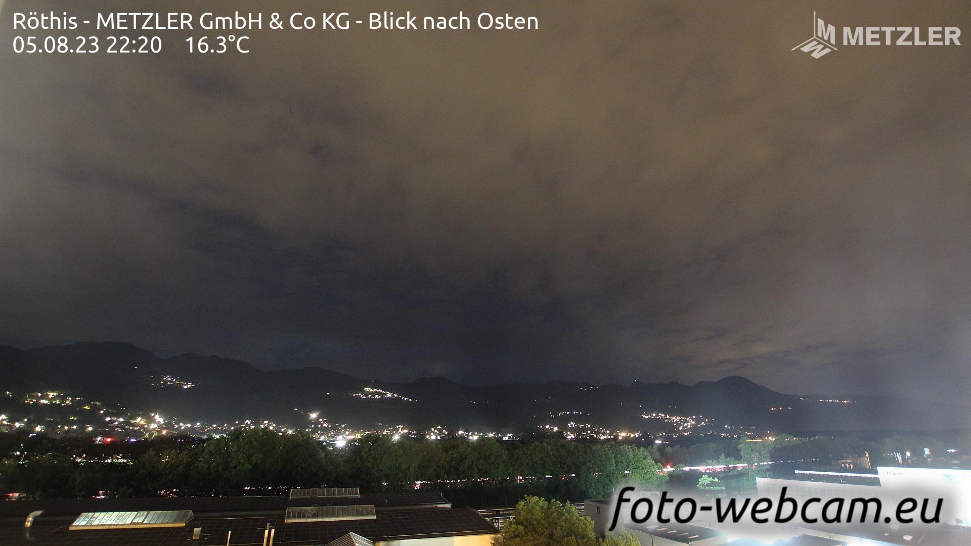 Webcam Dürne: Röthis − METZLER GmbH & Co KG − Blick nach