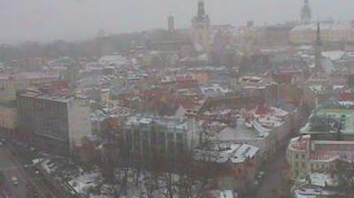 Vue webcam de jour à partir de Tallinn: City skyline