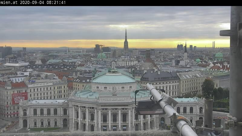 Webcam Vienna: Rathausplatz I