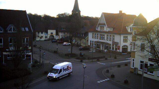 Webkamera Ankum: Bersenbrücker Marktplatz