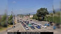 Pitt Meadows > West: , Lougheed Hwy looking west - Overdag