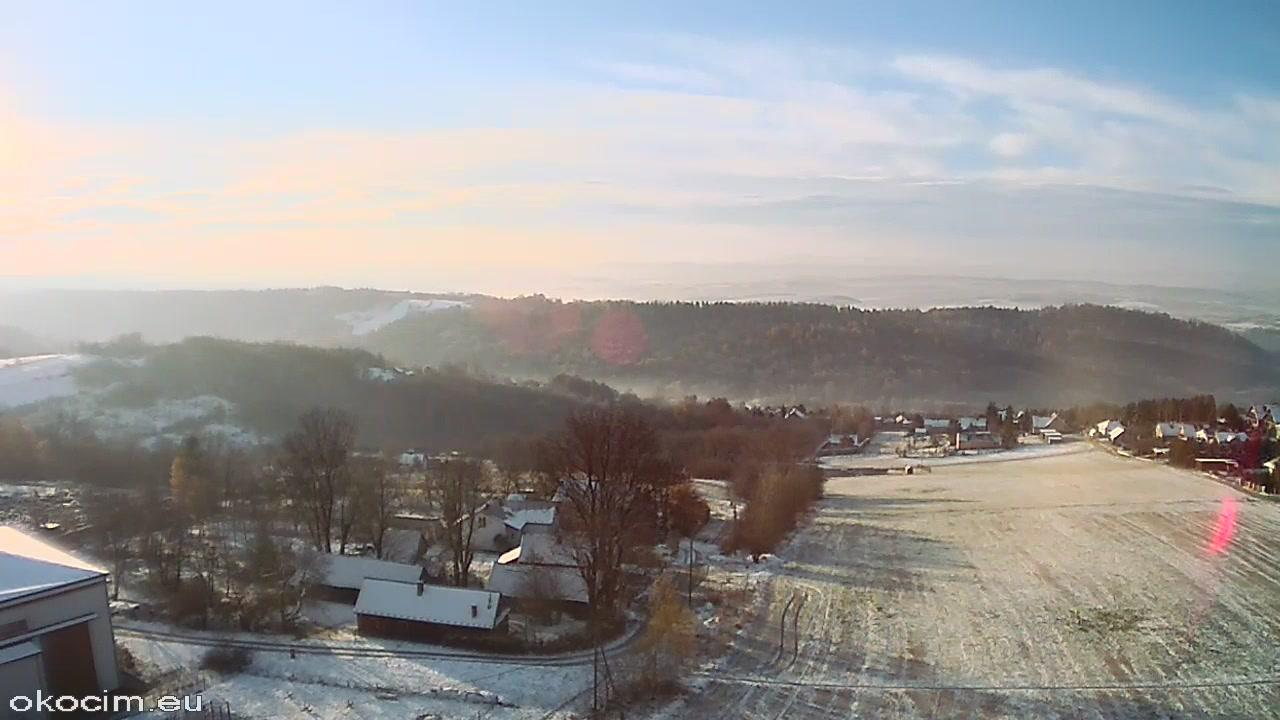 Webkamera Okocim: Panorama, Brzesko