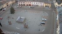 Jilemnice: Masarykovo náměstí, Czech Republic