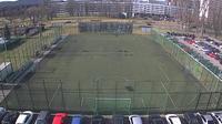 Lobzow: AGH - Football pitch, Kraków - Dia