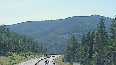 Tageslicht webcam ansicht von Wallace › East: Lookout Pass Montana