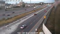 Toronto: Highway  east of Don Valley Parkway - Actuelle