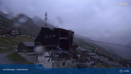 Wiler: Lauchernalp - Bergstation Luftseilbahn - Lauchernalp, Bergstation Lauchernalp