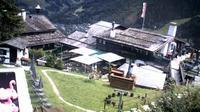Ultima vista de la luz del día desde Bad Gastein