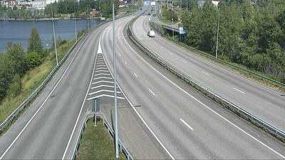 Vue webcam de jour à partir de Kotka: Tie 15 − Kotkansaari − Kouvolaan