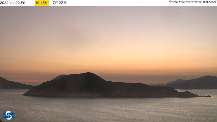 Webcam 山寮: Waglan Island (West)