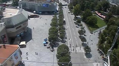Daylight webcam view from Banja Luka: Trg Krajine
