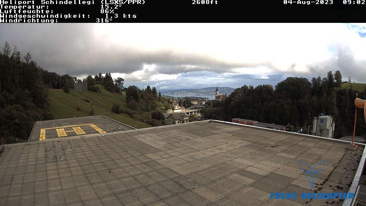 Webcam Schindellegi: Fuchs Helikopter