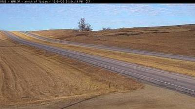 Webcam Vivian: US-83 near − SD (MM 97)