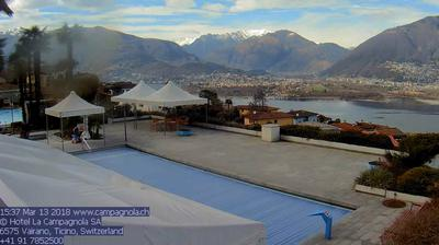 Webkamera Vairano: Locarno − Ascona − Muralto − Minusio − Lo