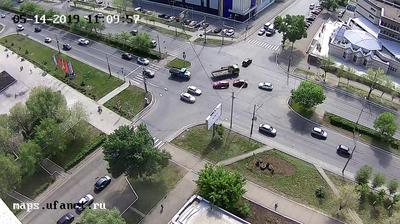 Webcam Староковыльный: перекресток ул. Чкалова и ул. Урал