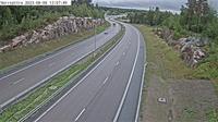 Viby: Norrs�ttra (Kameran �r placerad p� v�g  Norrortsleden mellan T�rnskogstunneln och trafikplats Hagbylund och �r riktad mot Rosenk�lla/E) - El día