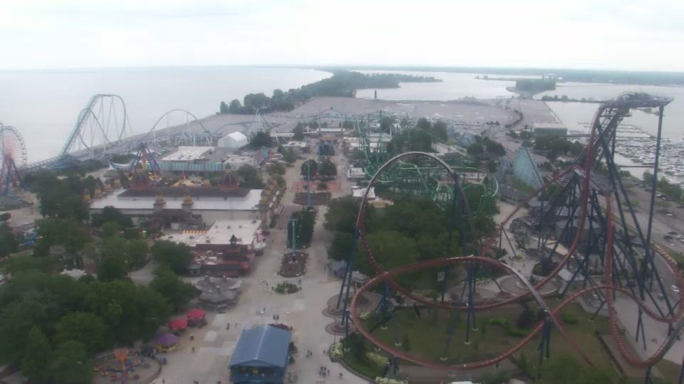 Webcam Cedar Point: Sandusky − Amusement Park