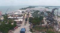 Huron: Sandusky - Cedar Point Amusement Park - USA - Day time