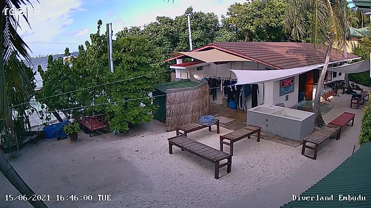 Webkamera Eboodhoo: South Malé Atoll − Embudu Island