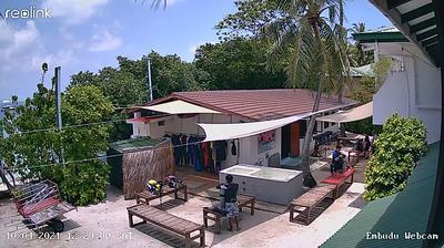 Daylight webcam view from unknown: South Malé Atoll Embudu Island, Maldives