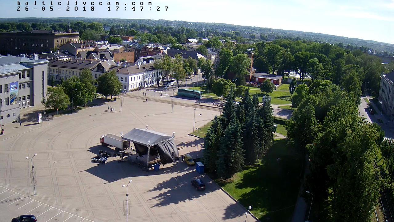 Webcam Daugavpils: Unity Square