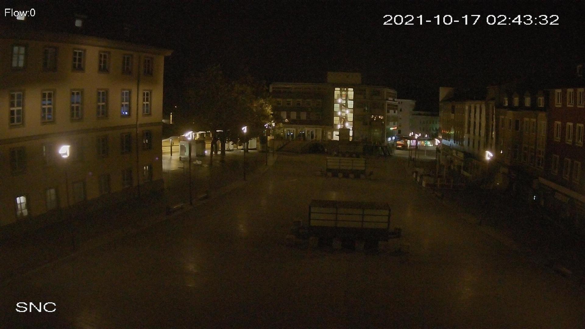 Webkamera Sonnenschein: Witten − Rathausplatz