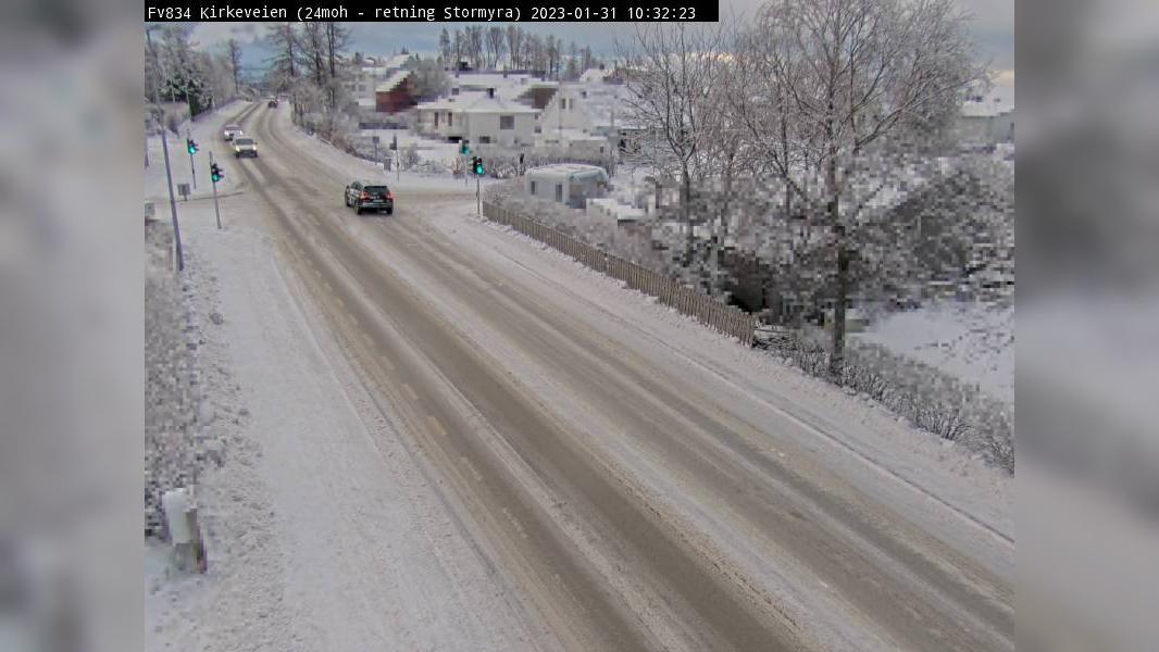 Webcam Rønvik: F834 Kirkeveien (Retning sør)