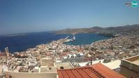Neapoli: Syros - Port of Hermoupolis - El día