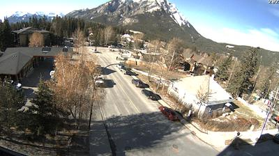 Daylight webcam view from Banff: Lodging Co