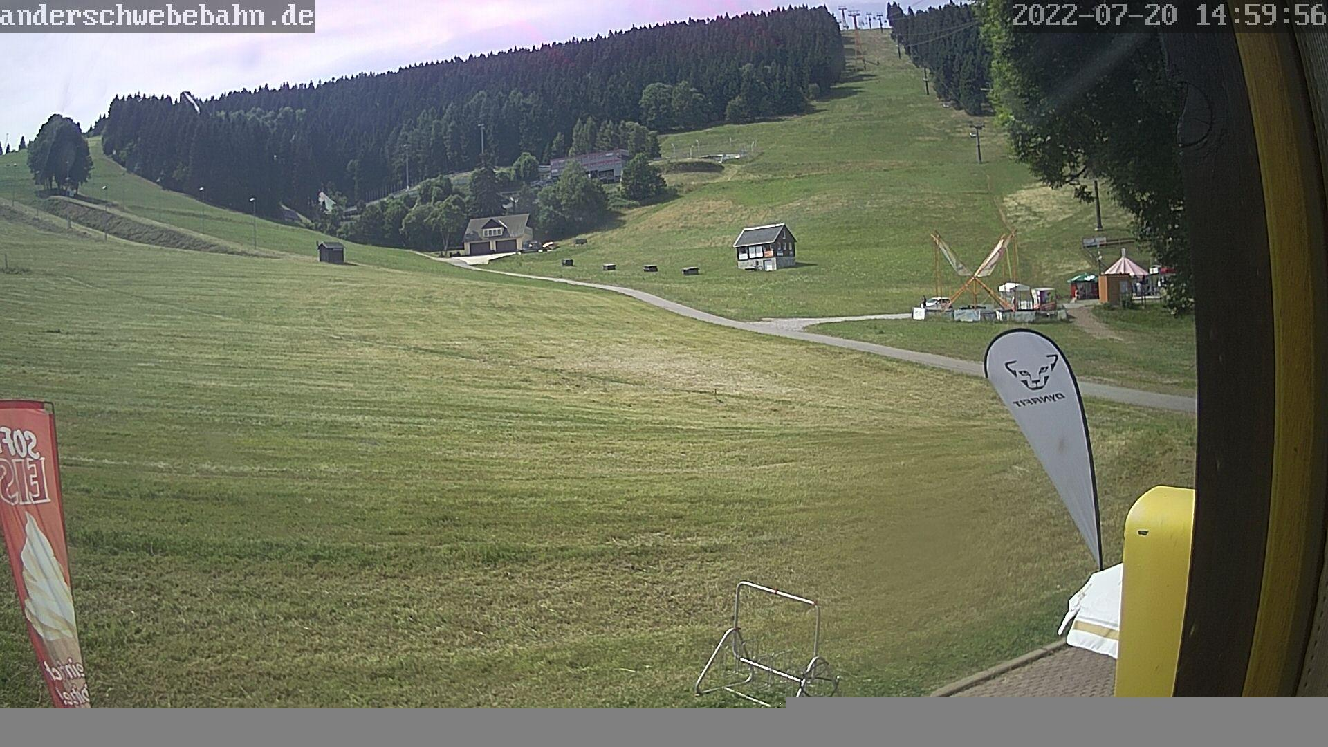 Webkamera Fichtelberg Haus: Oberwiesenthaler Skigebiet