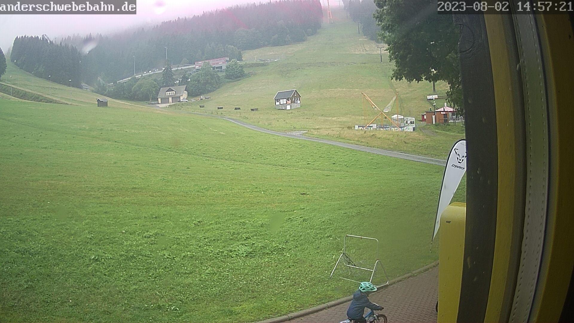 Webcam Fichtelberg Haus: Oberwiesenthaler Skigebiet