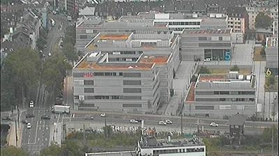 Vue webcam de jour à partir de Düsseldorf: ARAG Tower