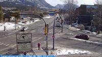 Canmore: Railway Avenue - Day time
