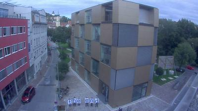Tageslicht webcam ansicht von Graz: Baustelle 'Nikolaiplatz