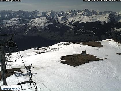 Breil: Skigebiet Brigels Waltensburg Andiast - Bergstation Fil
